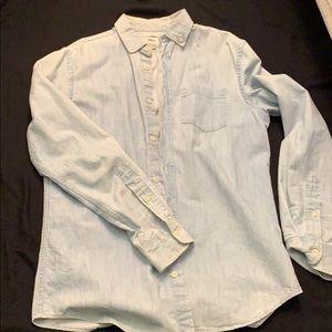 old navy denim shirt